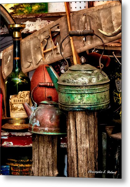Odds And Ends Metal Print