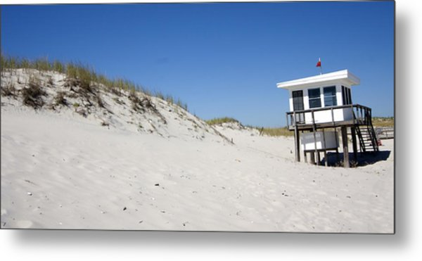 Off-season Beach Metal Print
