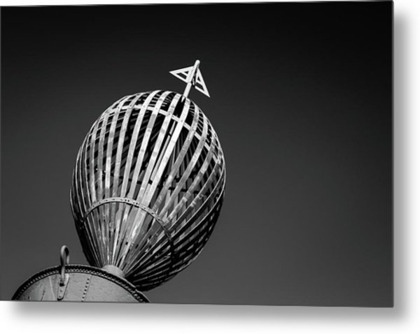 Old Buoy Metal Print