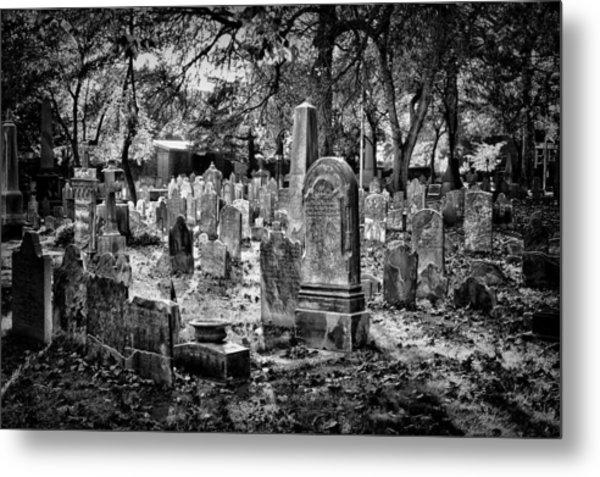 Old Cemetery In Philadelphia 1 Metal Print