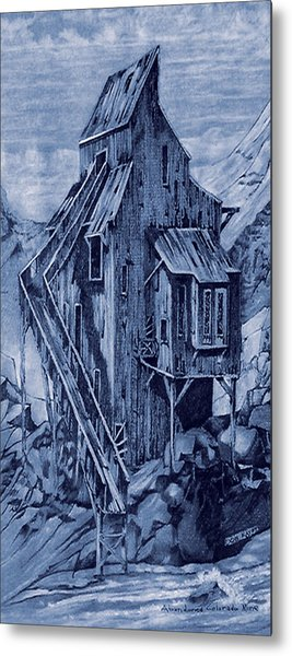 Old Colorado Mine Metal Print by Donn Kay