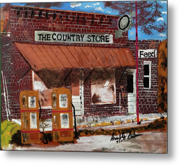 Old Country Store Metal Print