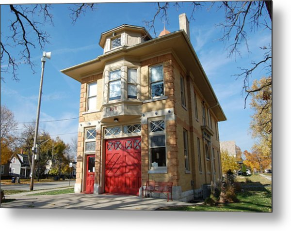 Old Firehouse Metal Print by Daniel Ness
