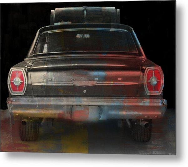 Old Ford Color Splash Metal Print