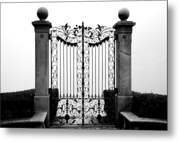 Old Gate Metal Print