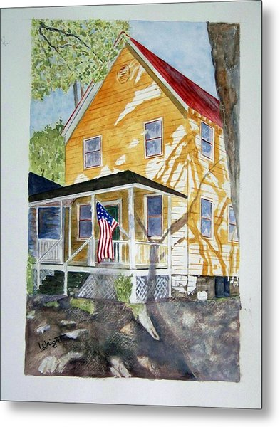 Old Glory Metal Print by Larry Wright
