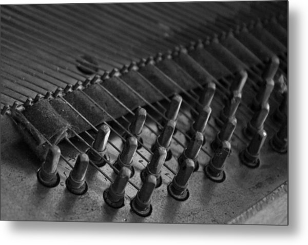 Old Octave Metal Print by Lionel Martinez