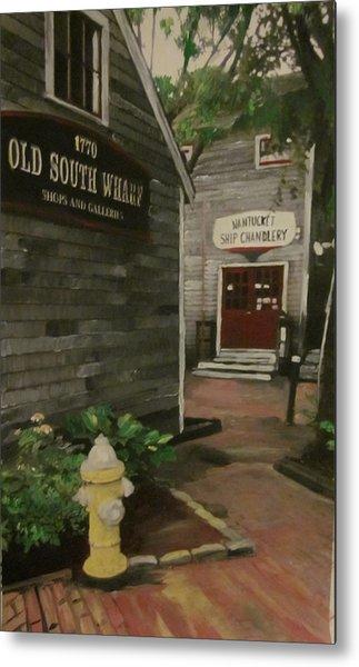 Old South Wharf Metal Print by David Poyant