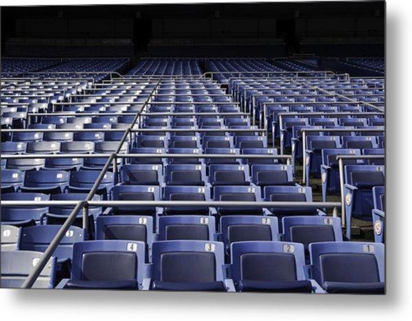 Old Yankee Stadium Seating Metal Print
