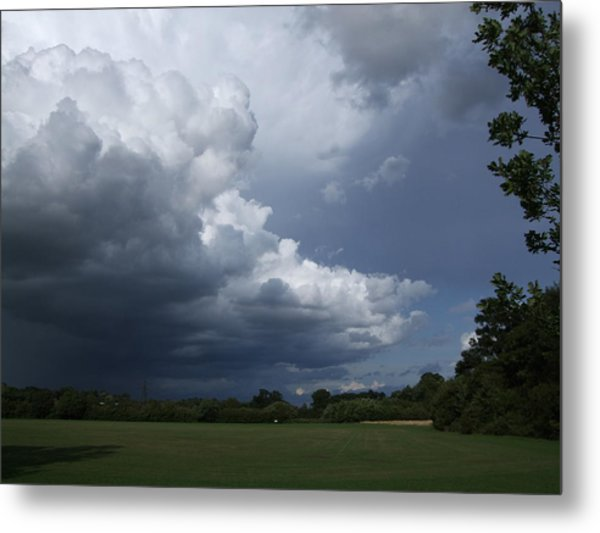 Oncoming Storm Metal Print by Deborah Brewer
