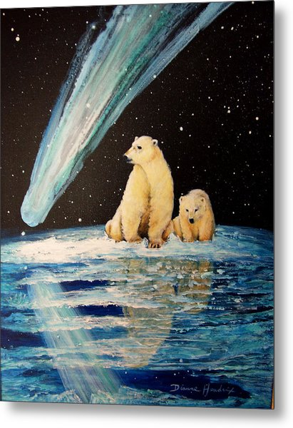 One Mile From The Top Of Alaska Metal Print by Dianne Roberson