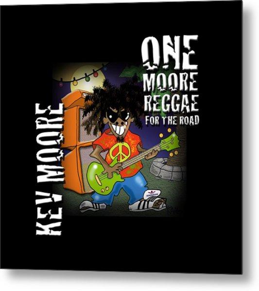 One Moore Reggae Metal Print