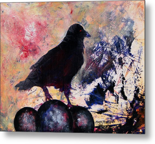 Only This Metal Print by Sandy Applegate