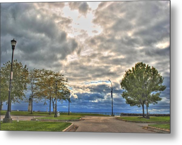 Open Heavens  Metal Print