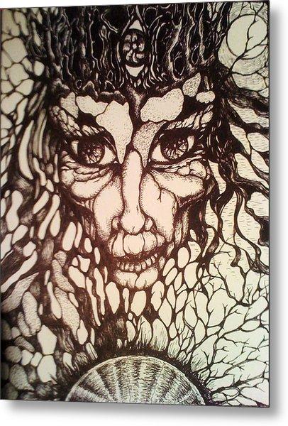 Oracle Metal Print by Rae Chichilnitsky