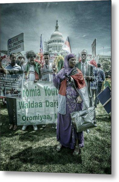 Oromo Unity Metal Print