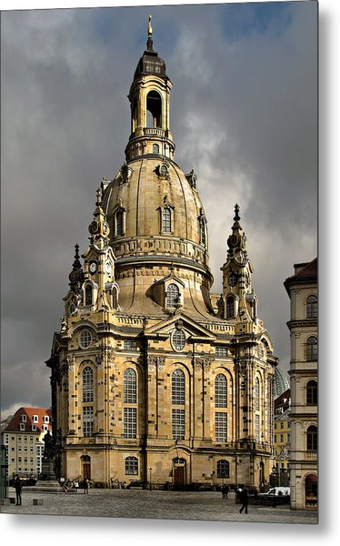 Our Lady's Church Of Dresden Metal Print