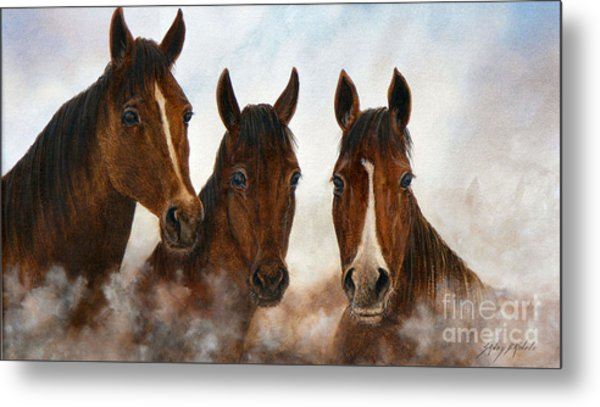 Out Of The Fog  Sold Metal Print