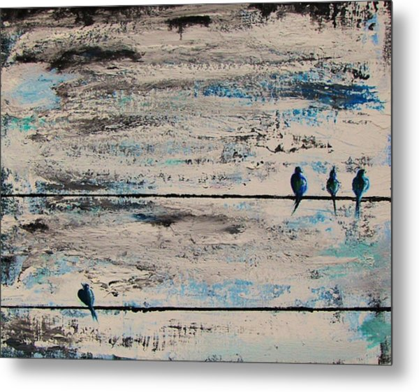 Outcast Metal Print by Steffen  Anderson