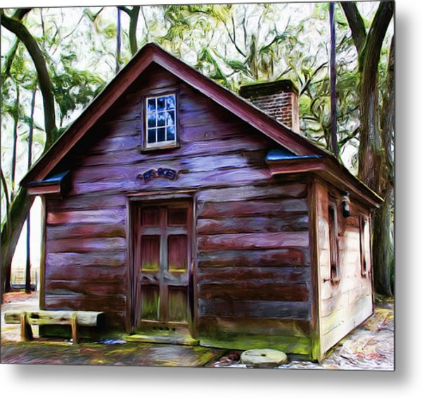 Oyster House On  Henry Ford Plantation Metal Print
