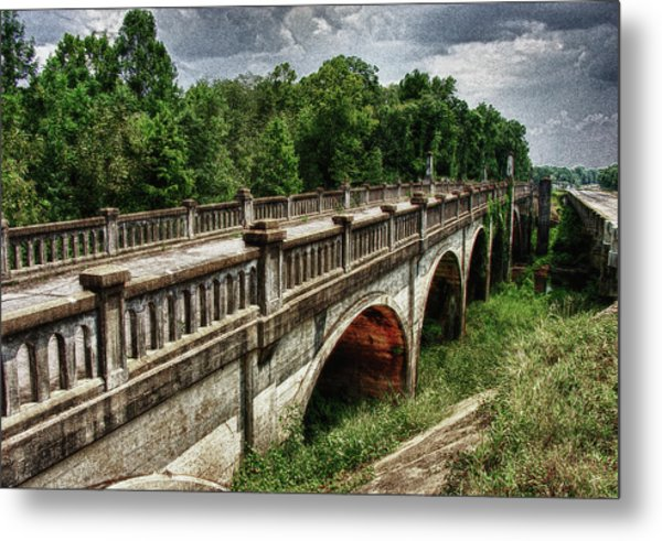 Ozark Alabama Bridge Metal Print by Frank Feliciano