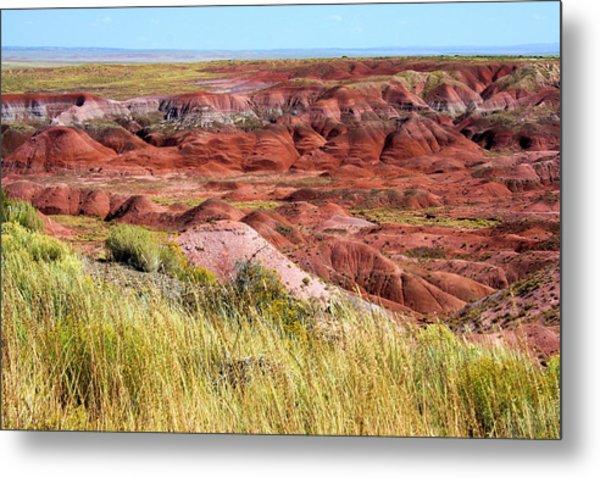Painted Desert 0242 Metal Print by Sharon Broucek