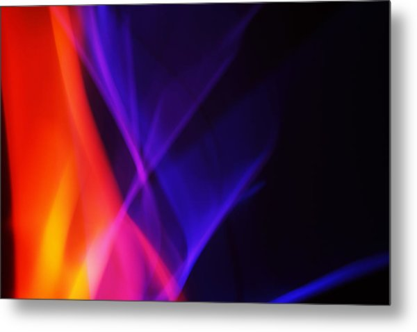 Painting With Light 3 Metal Print by Chris Rodenberg