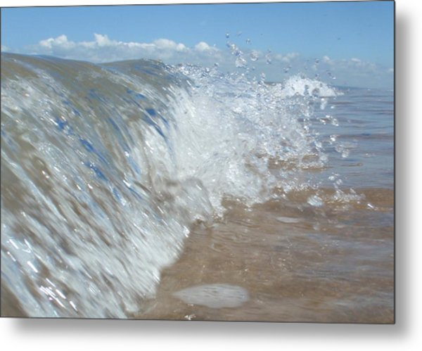 Painting With Waves Metal Print