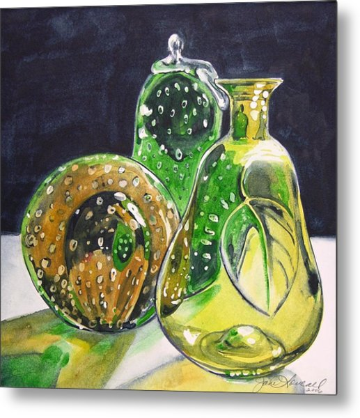 Pair Of Pears Metal Print