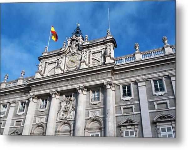 Palacio Real Metal Print