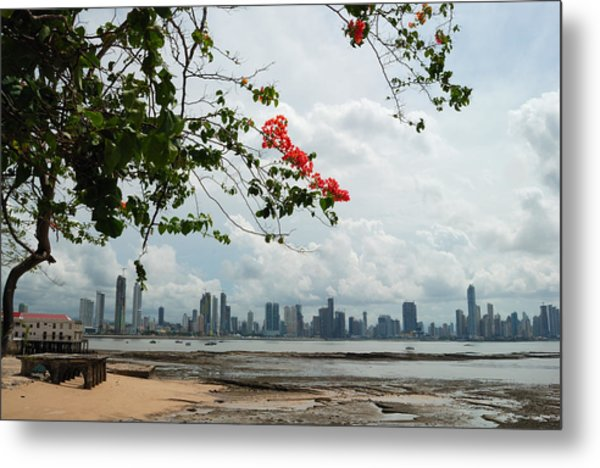 Panama City Downtown Metal Print