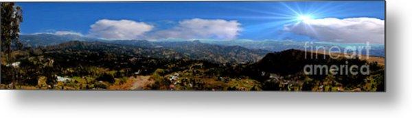 Panorama From Pachamama II Metal Print