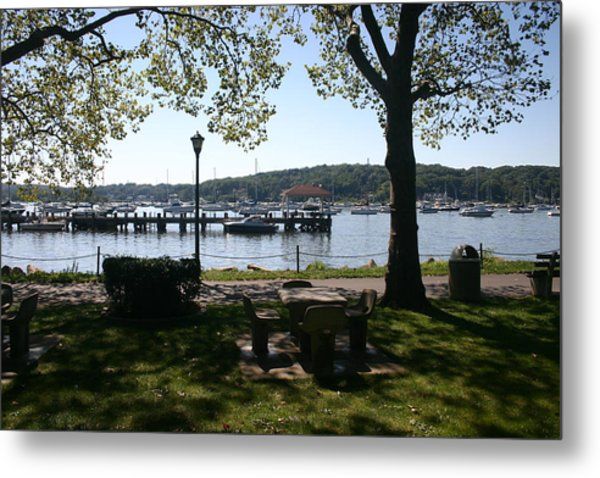 Parkside Metal Print by Dennis Curry