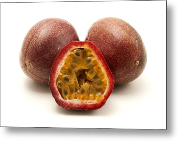 Passion Fruits Metal Print