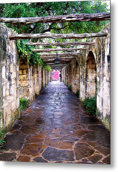 Path To The Alamo Metal Print