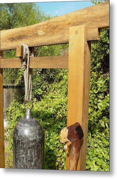 Peace Bell 2nd Image   Sold Metal Print by Steve Mudge