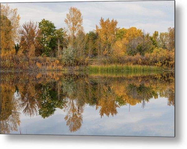 Peaceful Calm Autumn Afternoon Metal Print