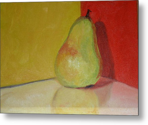 Pear Study Metal Print by Martha Layton Smith