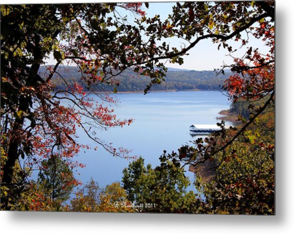 Peek-a-view Metal Print