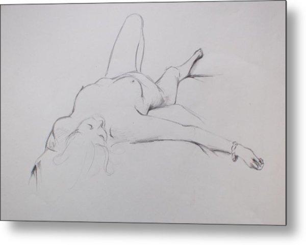 Pencil Sketch 10.2010 Metal Print
