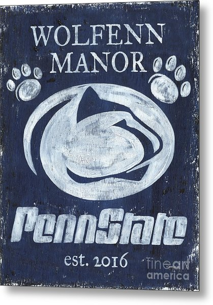 Penn State Personalized Metal Print