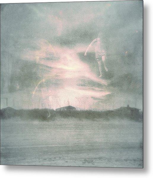 Ghosts And Shadows Vii - Personal Rapture  Metal Print