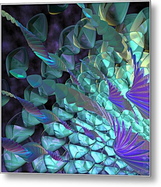 Petal Abstract Metal Print