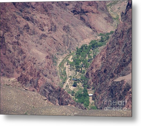 Phantom Ranch Metal Print