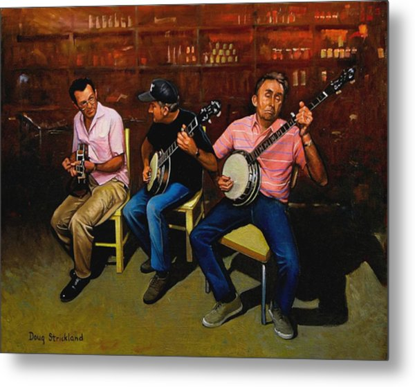 Pickers Metal Print by Doug Strickland