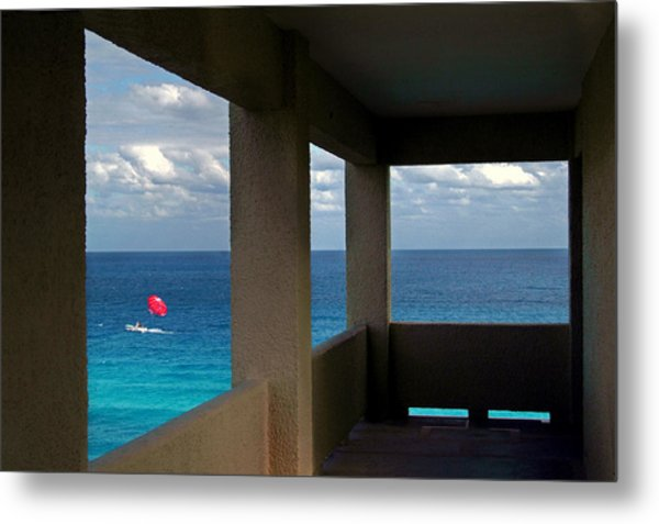 Picture Windows Metal Print