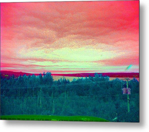 Pink Clouds Metal Print by Allison Prior