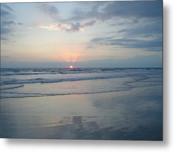 Pink Morning Metal Print