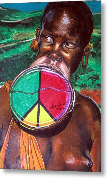 Plains Of Peace Metal Print by Andre Ajibade