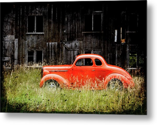 Plymouth Hot Rod Metal Print